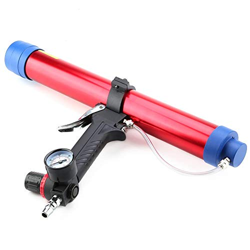 Pneumatische Glaskleber, pneumatische Kartuschenpistole Dichtmittel Kartuschenpistole Kartuschenpistole 300~600 ML für Gebäude Dekoration
