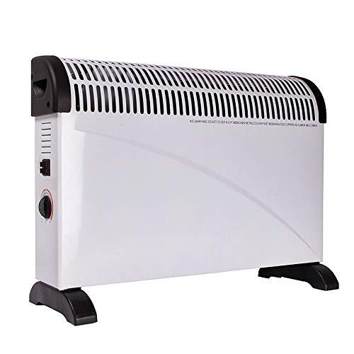 2000 W Heizstrahler Heizgerät mit Frostwächter stufenlose Thermosteuerung Konvektor Elektroheizer Radiator (2000W Heizstrahler)