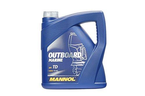 MANNOL Outboard Marine API TD, 4 Liter