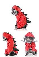 犬 レインコート 犬用品雨具ポンチョ お出かけ お散歩 防水 犬服 反射テープ 帽子付き 雨合羽 ドッグウェア 雨具 防水 汚れ防止 軽量 通気性 着脱簡単 中小型猫犬 散歩用 梅雨対策 雨の日