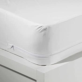 Amazon.com: Queen Size Zippered Mattress Cover Vinyl Water