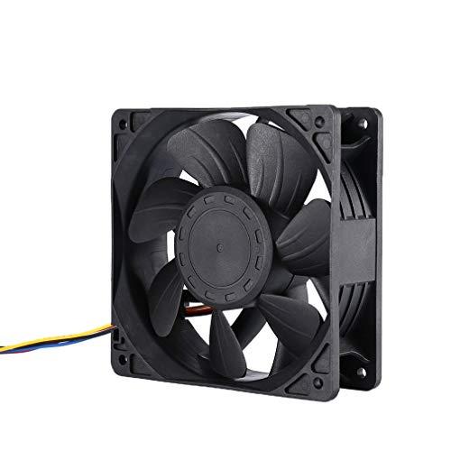 """Lot of 5 Antminer T9 S1 S3 S5 S7 S9 A3 D3 L3 V9  5/"""" 120mm High Temp Fan Duct"""