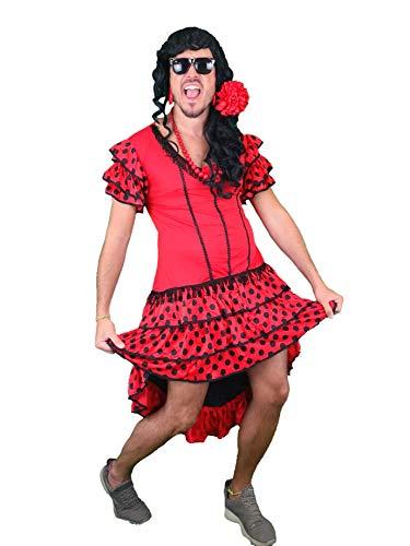 Disfraz Sevillana Hombre La Melody - Despedidas Soltero