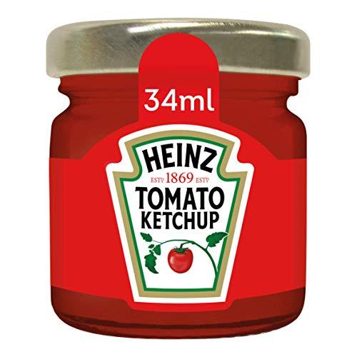 Heinz Tomato Ketchup Roomservice, Gläschen, 80er Pack (80 x 34 ml)