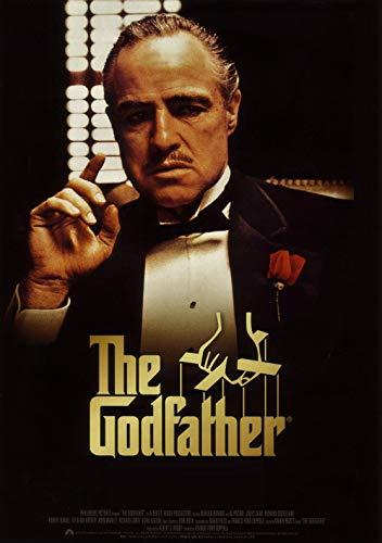 Theissen The Godfather Brando Cult Film Movie Art Poster Print Retro Vintage - Matte Poster Frameless Gift 11 x 17 inch(28cm x 43cm)*IT-00151