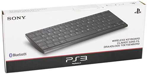 NEW! Sony PS3 Playstation 3 Official Wireless Bluetooth Keyboard