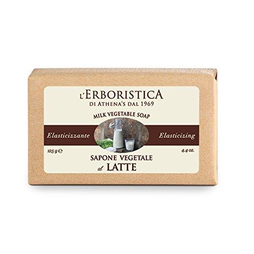 L'Erboristica di Athena's dal 1969 Sapone vegetale alle proteine del latte 125 g.