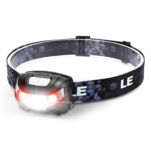 LE Head Torch Rechargeable, 1000L Super Bright LED Headlamp Waterproof with...