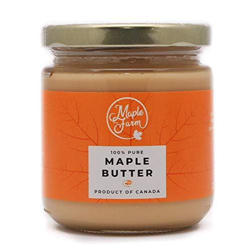MapleFarm - Maple Butter - Burro d'acero - Maple cream - Crema a base di sciroppo d'acero - 330g