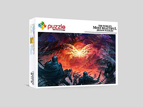 RNGNB Adultos 1000 Piezas Puzzle Puzzle Rompecabezas para Niños Intelectual Desafío para Adultos Y Niños Mitologia Antigua 75Cm X 50Cm
