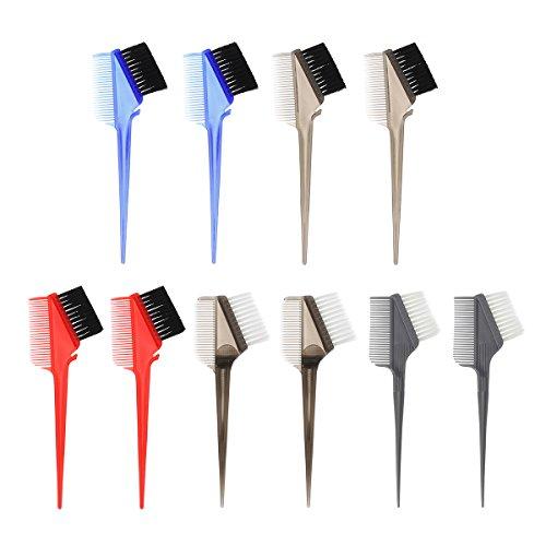 Bluelover 10Pcs Cheveux Teinture Brosse À Colorier Peigne Tail Astuce Salon Outils Coiffeur Coiffure