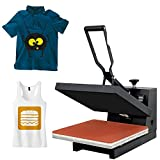 Super Deal PRO 15' X 15' Digital Heat Press Clamshell Sublimation Transfer Machine for T-Shirt