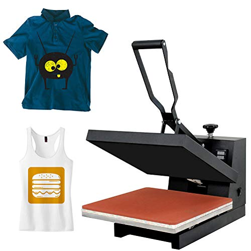 """Super Deal PRO 15"""" X 15"""" Digital Heat Press Clamshell Sublimation Transfer Machine for T-Shirt"""