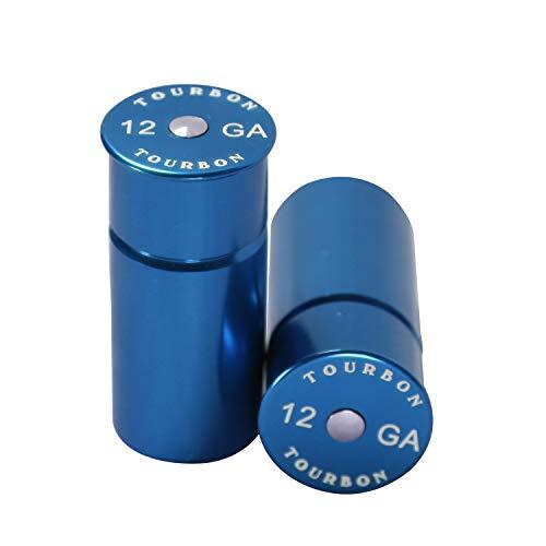 Tourbon Chasse de Fusil Calibre 12 à Capuchon (Lot de 2 Pièces) - Bleu