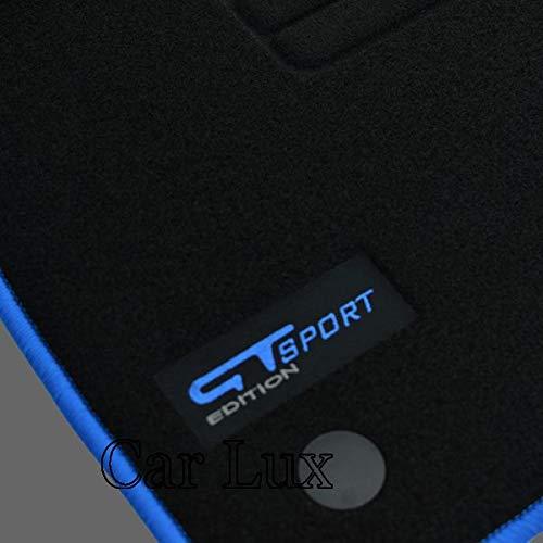 Car Lux AR01581 Tapis de voiture sur mesure en velours