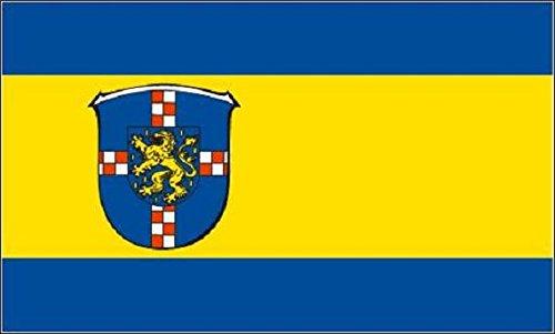 U24 vlag vlag vlag Landkreis Limburg - Weilburg 90 x 150 cm