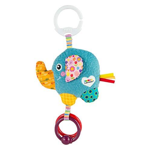LAMAZE Mini Eloy the Elephant Baby Toy, Clip On Baby Pram Toy & Pushchair...