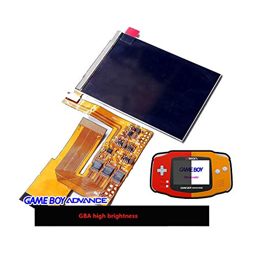 LICHIFIT 10 Levels High Brightness IPS Backlight Backlit LCD for Game Boy Advance GBA Console