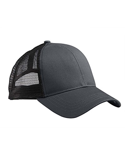 A Product of econscious Eco Trucker Organic/Recycled Hat -Bulk Saving Charcoal/Black