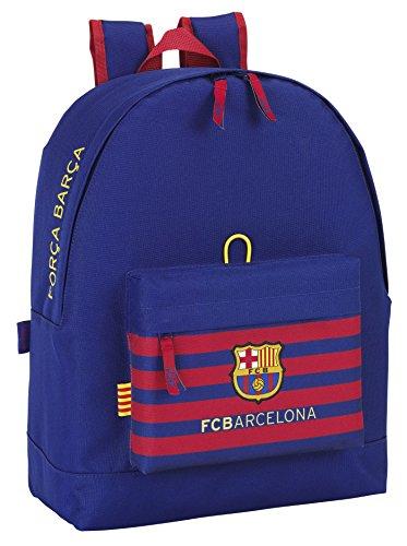 Safta FC Barcelona Mochila, 33 x 43 x 15 cm, Color Azul Marino