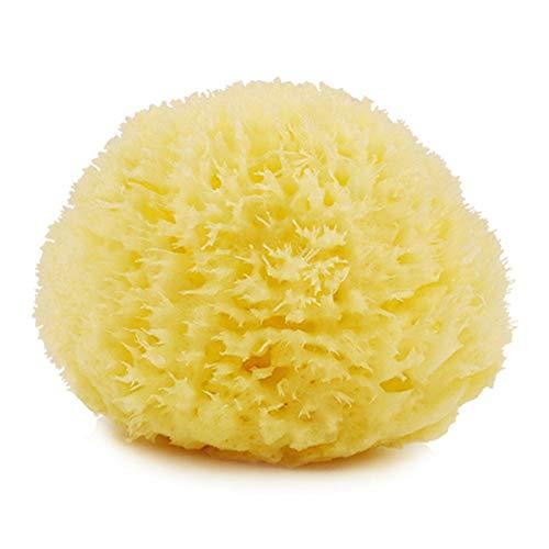 Éponge naturelle bébé bain adulte bain coton boule de bain enfant serviette de bain éponge en nid d'abeille-Adulte 14cm