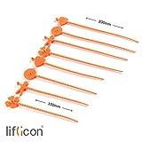 Zoom IMG-1 liflicon 8 fascette silicone alimentare
