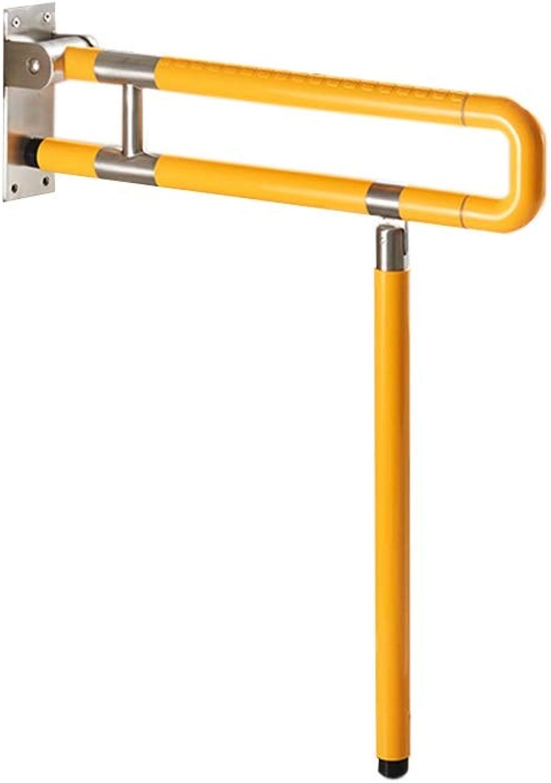 Non-Slip up armrest Folding Old Man Safety armrest Toilet handrail (Size   60  8  71.5cm)
