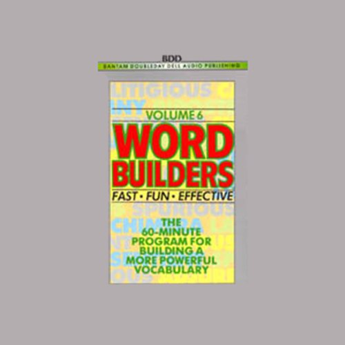Word Builders cover art