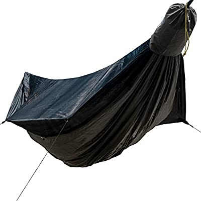 """Go Outfitters Go Camping Hammock 2.0 w/Built-in Mosquito Net: 11' Long X 64"""" Wide 