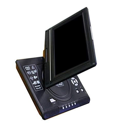 teng hong hui 9.8' Reproductor portátil de DVD de Alta definición Reproductor de vídeo Reproductor de DVD portátil de DVD Entrada Salida AV Coche TV Reproducción de un Dispositivo Enchufe de la UE