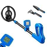 Metalldetektor für Kinder | Hochempfindlicher Metalldetektor mit wasserdichter Suchspule | LCD-Display | Leichtes und benutzerfreundliches Spielzeug für Kinder mit einstellbarer Griff