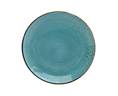 Creatable 22040, WATER, 6-er Speiseteller 27 cm, Nature Collection, Steinzeug