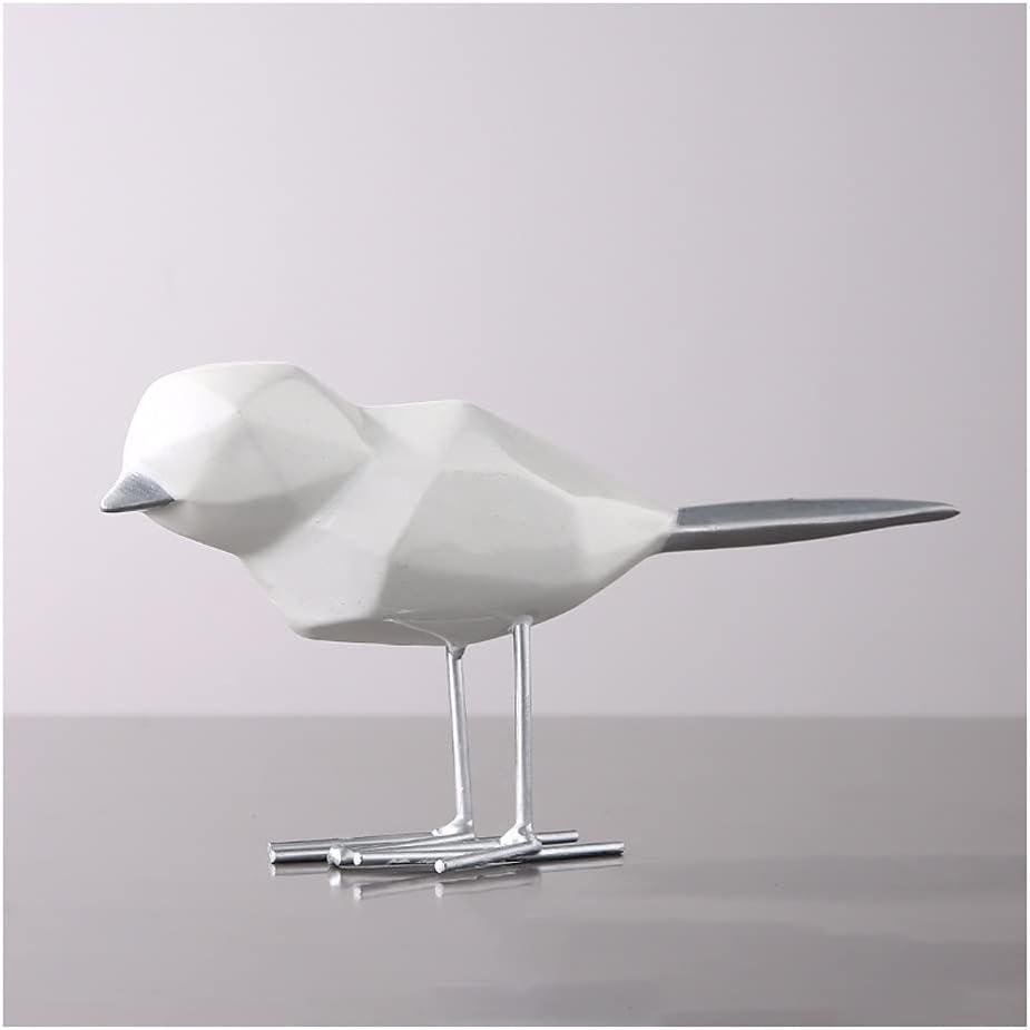 Decoración del Hogar Origami Golden Bird Sculpture Jewelry Home Craft Regalo Sala de estar Gabinete de vino TELEVISOR Obra de arte de la estatua de escritorio Accesorios Decorativos ( Color : A )