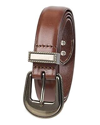 NYDJ Women's 100% Leather Casual Belt, Tan, X-Small