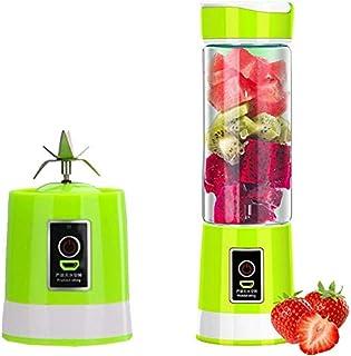 Portable Electric Juicer, Hand held Vegetable Fruit Mixer Bottle Juice Maker Blender Rechargeable Home Kitchen Juice Makin...
