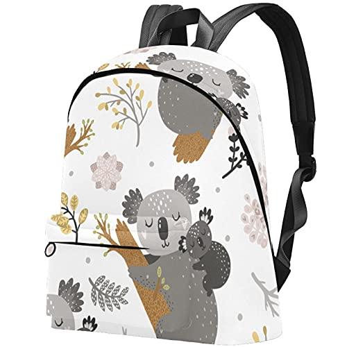 Mochila de libro para niños con diente de león púrpura para bebé con bolsillo de malla lateral para guardería Daypack de dibujos animados monedero 44 x 35 x 14 cm