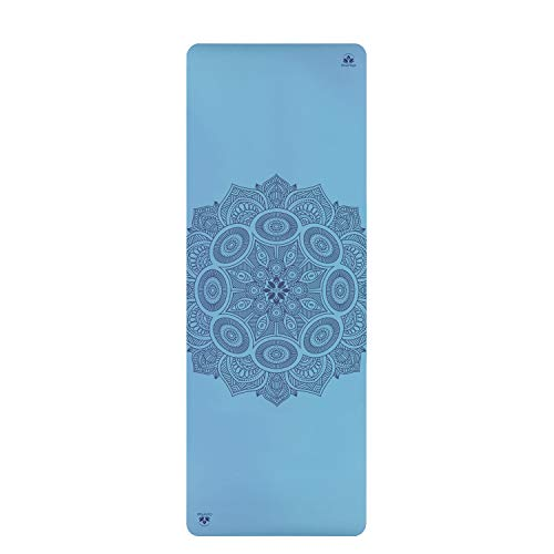 Clever Yoga Premium Non-Slip Anusara Yoga Mat For Kids and beginners. Unbeatable Performance on Grippy Wide and Tall Yoga Mat,...