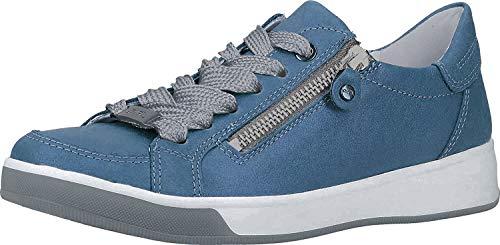 ara Damen ROM Sneaker, Blau (Sky 08), 42.5 EU (8.5 UK)