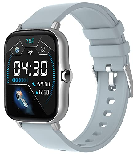 Smartwatch Telefonieren mit Lautsprecher,1.7 Zoll Touchscreen,Direkt Koppeln mit Bluetooth Kopfhörer Kabellos,Musikspeicher,Whatsapp Fähig,Fitness Tracker Blutdruck Pulsuhr Schrittzähler Sportuhr