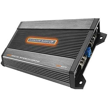 quantum audio 2000 watt amp