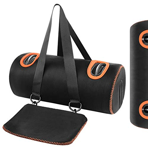 Geekria - Funda de transporte para altavoz portátil JBL Xtreme 2, impermeable, inalámbrica, resistente al agua, funda para altavoz, bolsa de viaje, caja de transporte, mochilas, exteriores (negro)