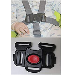Black 5 Point Harness Buckle Clip Replacement Part for Graco Simple Sway and Simple Sway LX Swing Rocker Bouncer Seat Safety for Babies, Toddlers, Kids, Children