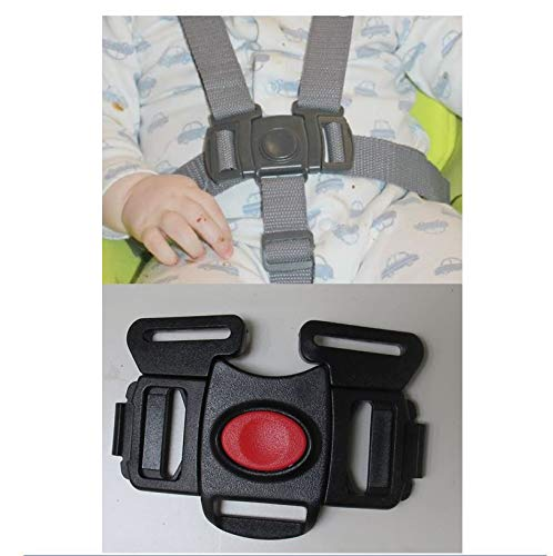 Check Out This Black 5 Point Harness Buckle Clip Replacement Part for Graco Everyway Soother Swing R...