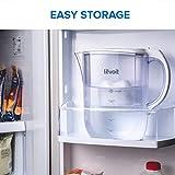 Levoit LV110WP-3X kanne wasserfilter krug wasserreiniger, BPA-frei und lebensmittelechter Kunststoff, weiß, 27cm × 14cm × 25cm - 5