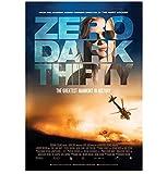 qinminsru Zero Dark Thirty Movie Poster Leinwand Malerei