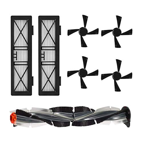 Huante - Filtro de repuesto de alto rendimiento, kit de cepillos compatible con los robots aspiradores Neato Botvac SeRie D y Neato Botvac, accesorios para Neato D3 D5 D7 D75 D80