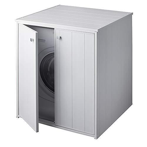 Inbagno Mobile Coprilavatrice da Esterno XXL per Tutte Le lavatrici-asciugatrici in Commercio