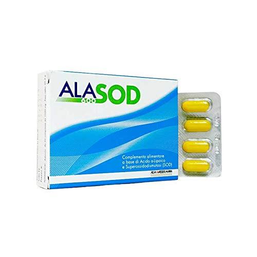 Integratore Alimentare Antiossidante Utile Per Contrastare Lo Stress Ossidativo AlaSod 600 20 Compresse