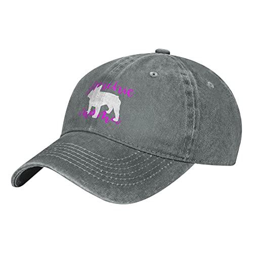 Frenchie Mama Unisex Trucker Hats Dad Baseball Hats Driver Cap,Gray
