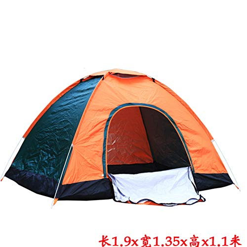 2 Person Camping Tent, Professionele Waterdicht & Winddicht & Ongediertebestendig. Lichtgewicht Rugzaktent geschikt voor Glamping, Wandelen, Buiten, Bergbeklimmen en Reizen